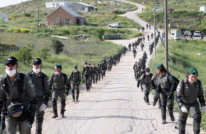 Enfrentamientos y arrestos en un puesto de avanzada cerca de Yitzhar