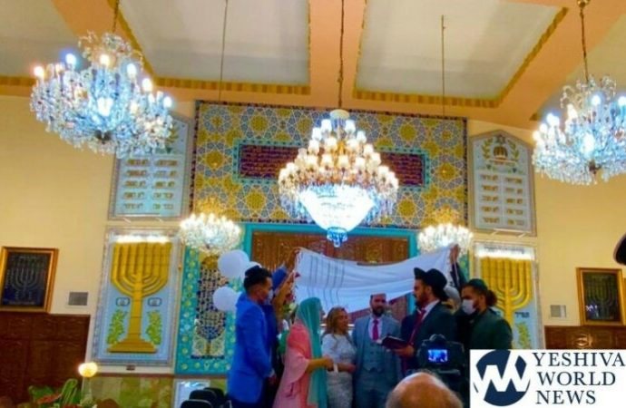 Boda judía en Teherán en medio de la pandemia de coronavirus