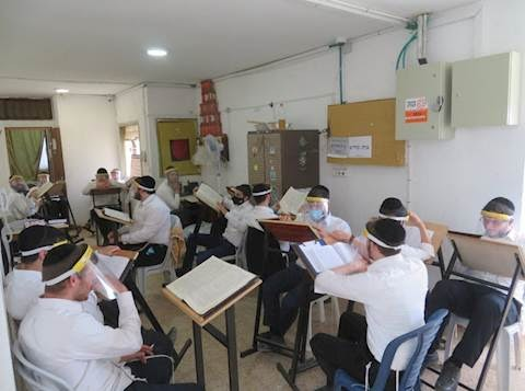 Todas los Bajurim de Yeshivá israelíes serán examinadas para detectar COVID-19
