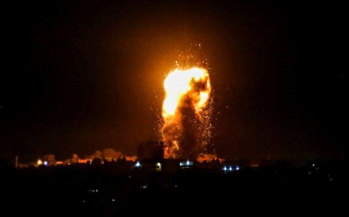 Aviones de combate israelíes atacan objetivos de Hamas