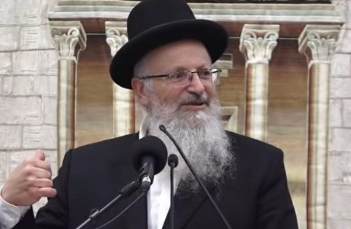 """Harav Shmuel Eliyahu: """"El tratado de paz de Israel con los Emiratos Arabes Unidos es el cumplimiento de un Nevuah"""""""