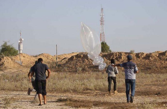 35 incendios de globos lanzados desde la Franja de Gaza