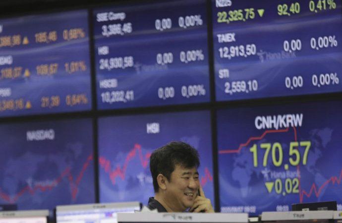 Las acciones caen mientras aumentan las tensiones entre China y EE. UU.