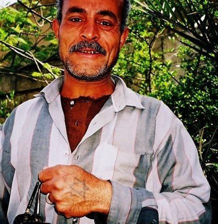 ¿Por qué el egipcio tenía un Maguén David tatuado en la mano?