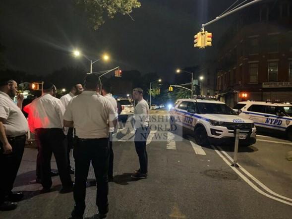 Hombre intenta prender fuego al edificio de Williamsburg, Shomrim facilita el arresto