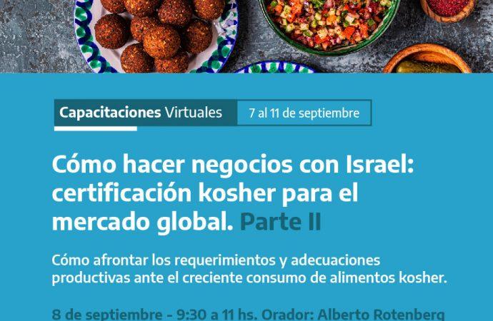 Seminario sobre Mercado Kosher