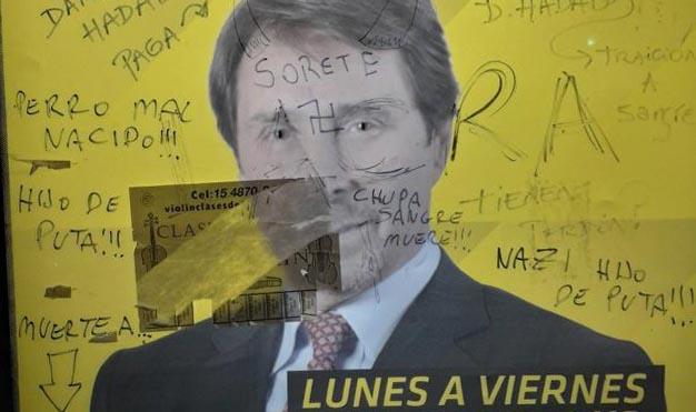 Nuevamente ataques antisemitas contra periodistas en Argentina