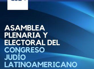 <strong>El 15 de octubre.</strong> El Congreso Judío Latinoamericano elegirá nuevas autoridades