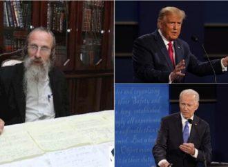 """<strong>Basado en la Torah.</strong> Él predijo la primera victoria de Trump: """"Trump ganará de nuevo"""""""