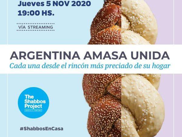 Shabat Project: Gran amasado mundial de Jalá
