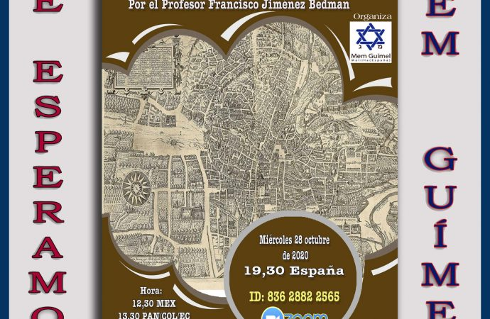 Hoy: Comunidades judías en el Antiguo Reino de Granada