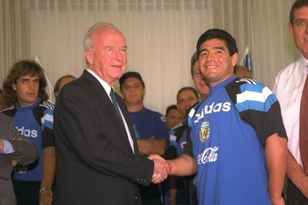 Cuando Diego Maradona era amigo de Israel