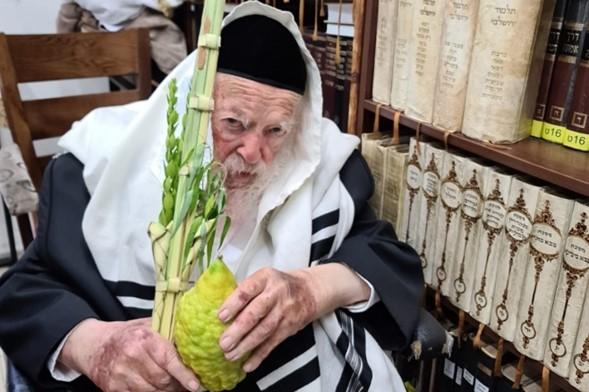 El nieto de HaRav Jaim, Yanky, se une al Zeide después de dar positivo por Covid-19