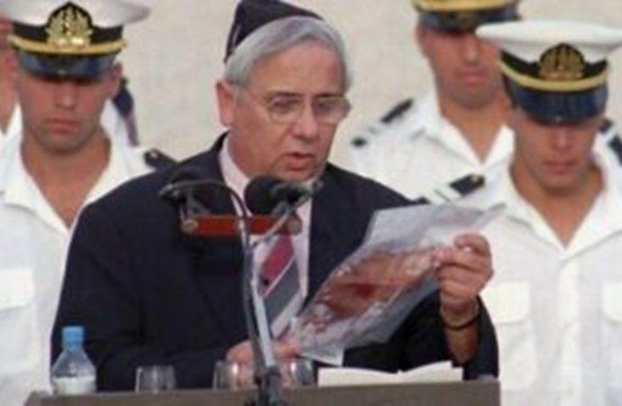 El ayudante de Itzjak Rabin que anunció su muerte fallece