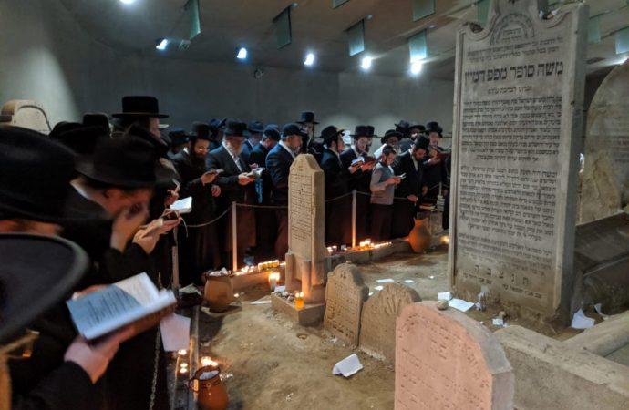 El Kéver del Jatam Sofer estará cerrado en su Yahrtzeit