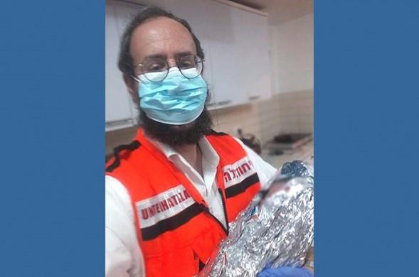 Dos técnicos de emergencias médicas de Hatzalah dan a luz a tres bebés en seis horas