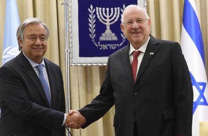 El Congreso Judío Mundial honra al jefe de la ONU Antonio Guterres