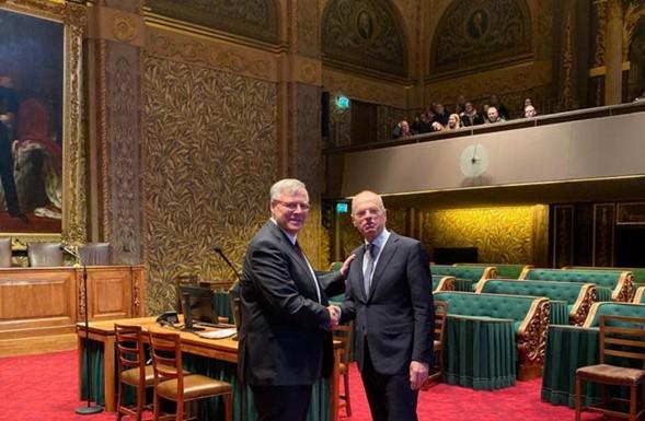 Senado holandés llama a afirmar los lazos judíos con el Monte del Templo