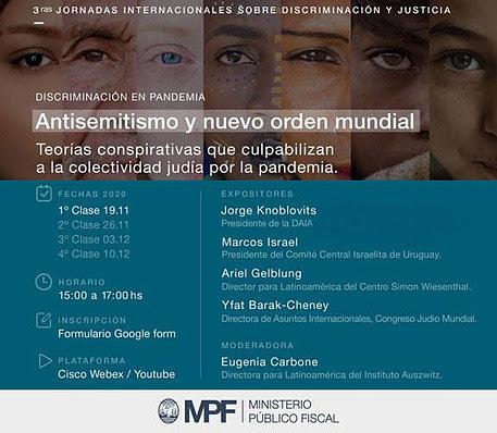 La DAIA participará en las 3° Jornadas Internacionales sobre Discriminación y Justicia del Ministerio Público Fiscal de la Ciudad