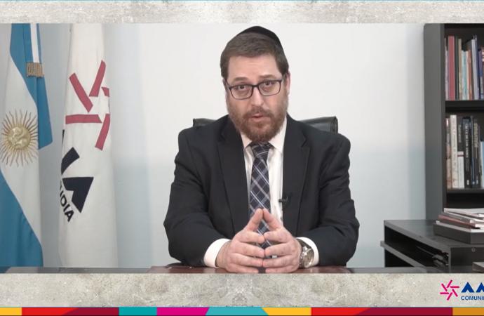 Acto por los desaparecidos judíos de la última dictadura militar