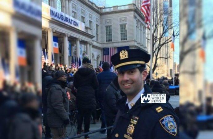 El oficial de policía de Nueva York de mayor rango con Kipá es ascendido a inspector adjunto