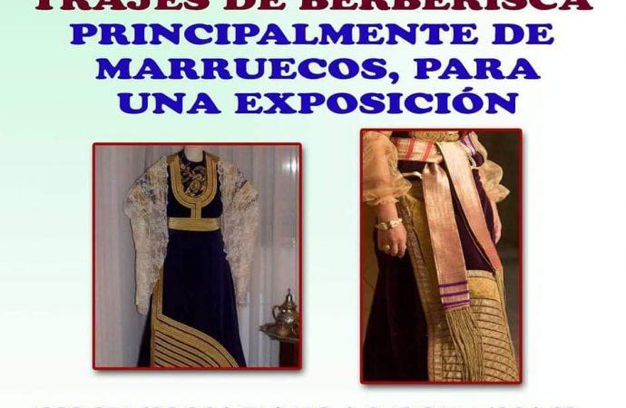 Fotos de trajes de Berberisca para exposición
