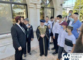 Hagaón HaRav Itzjak Yosef visitó los Emiratos Arabes Unidos para Shabat: Primer rabino jefe que visita un país árabe