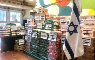 La embajada de Israel en Argentina en una acción solidaria