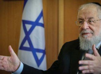 <strong>Pandemia.</strong> El ex rabino principal de Israel Lau da positivo después de recibir una segunda vacuna