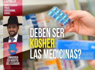 <strong>Conferencia internacional.</strong> ¿Deben ser kosher las medicinas?