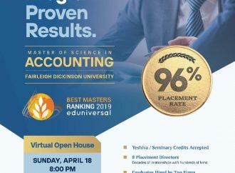 ¡Este domingo! Maestría en Contabilidad de PCS ¡Casa Abierta Virtual!