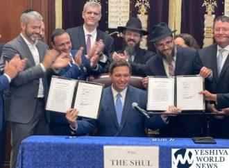 El gobernador de Florida DeSantis promulga ley que legaliza Hatzalah del sur de Florida para operar (VIDEOS Y FOTOS)