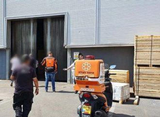 El gerente de una fábrica judía rescata a un trabajador árabe electrocutado