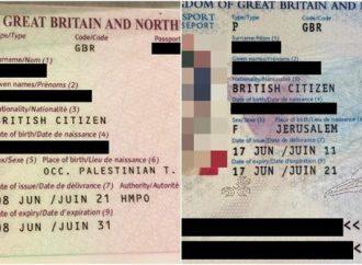 """Israelí nacida en Jerusalem que renueva su pasaporte británico descubre que nació en la """"Palestina ocupada"""""""