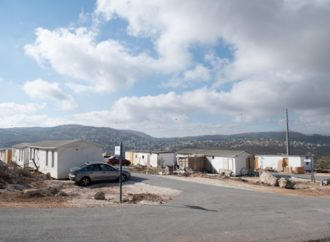 Las FDI desalojarán a los judíos de Evyatar y demolerán sus viviendas