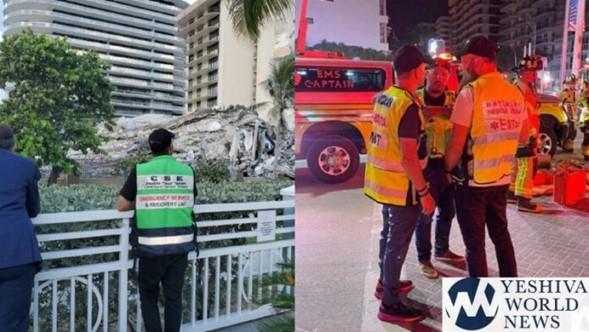 99 personas desaparecidas después que el condominio de 12 pisos se derrumba (Videos de rescate)