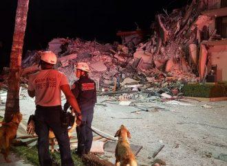 El número de muertos llega a 16 en el colapso de condominios de Surfside en Florida