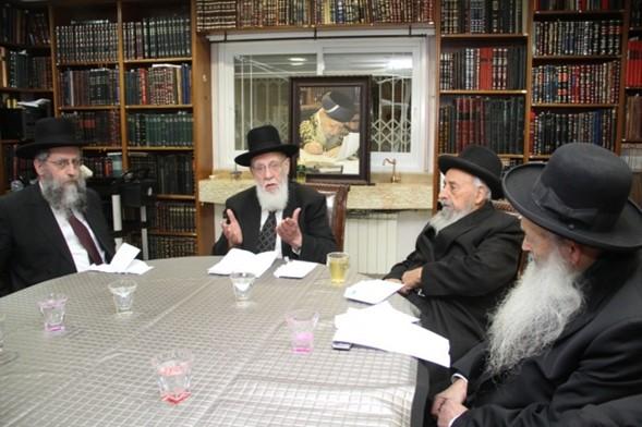 """Moetzet Jajmei HaTorá: """"Los que odian a Hashem están estableciendo un gobierno maligno"""""""