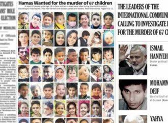 New York Times: Al menos 8 niños de Gaza que aparecen en la portada fueron asesinados por cohetes de Hamas