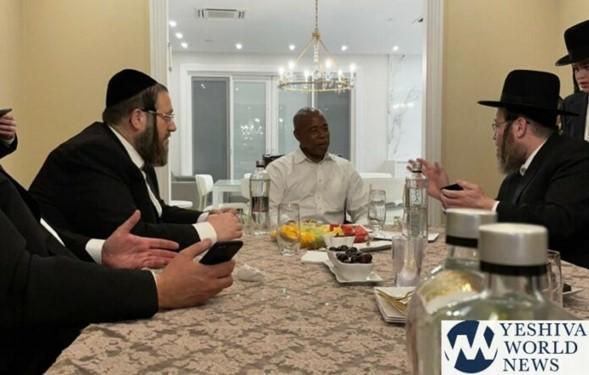 Terremoto político: Satmar respalda al líder Eric Adams para el alcalde de Nueva York