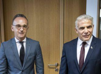 Lapid declara su apoyo a la solución de dos Estados ante los ministros de Asuntos Exteriores de la UE