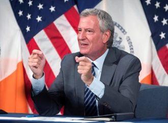 El alcalde de Nueva York, Bill de Blasio se opone al boicot a Israel de Ben & Jerry's