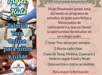 Nuevo: Talmud Torá on line para niños y niñas
