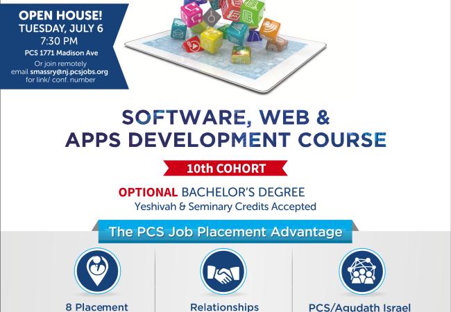 Este martes: Casa Abierta de Desarrollo Web y Software PCS