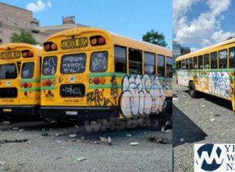 Varios autobuses de Yeshivá violentados en Williamsburg