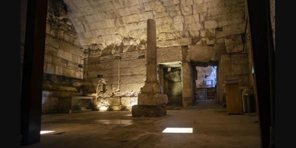 """""""Magnífico"""" edificio público de 2.000 años descubierto cerca del Muro Occidental"""