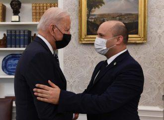 """El primer ministro Bennett se reunió con el presidente Biden: Habrá """"otras opciones"""" si fracasan las conversaciones sobre armas nucleares con Irán"""