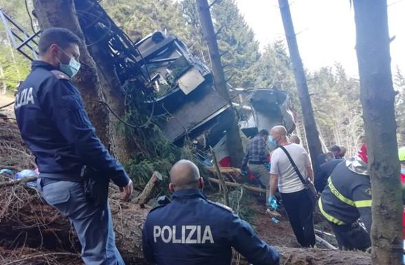 Niño israelí que sobrevivió al accidente del teleférico en Italia fue secuestrado a Israel