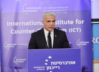 Lapid propone una solución económica al terrorismo en Gaza