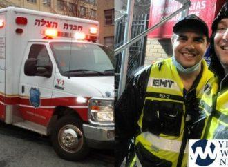 Los héroes de Hatzalah: Bebé sano entregado en una carretera inundada en el pico de la tormenta